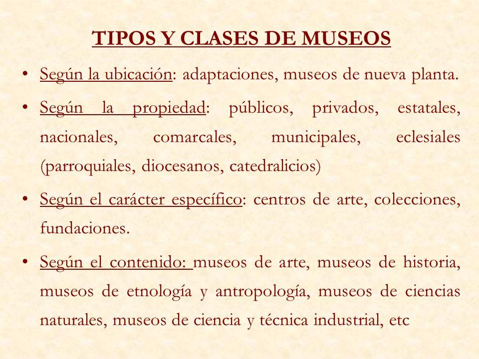 LOS MUSEOS DE ARTE