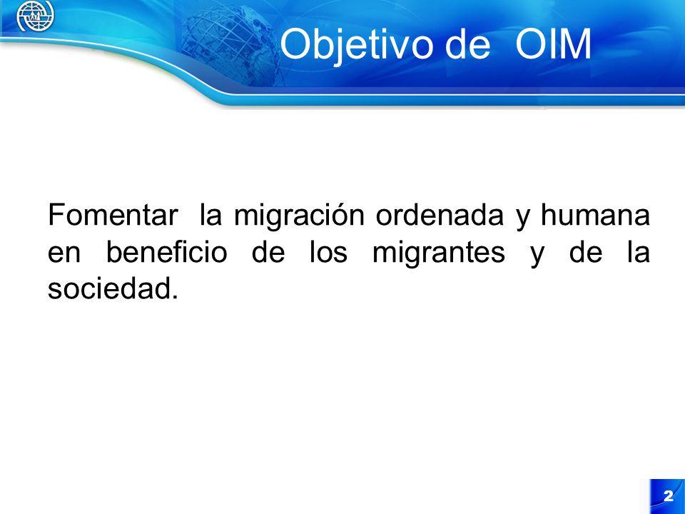 UNIDAD DE ASISTENCIA AL MIGRANTE Y MOVIMIENTOS (UAMM) DE LA OIM PERÚ Es la Unidad encargada de brindar asistencia de manera directa a los beneficiarios en coordinación con las Oficinas de la OIM en los países de destino.