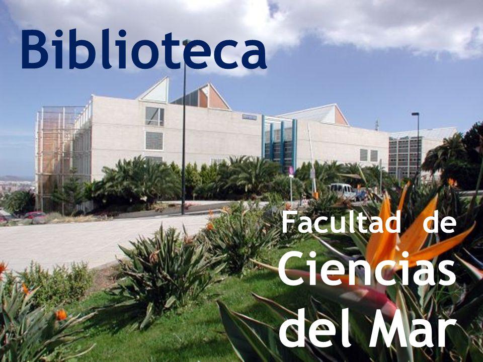Facultad de Ciencias del Mar Biblioteca