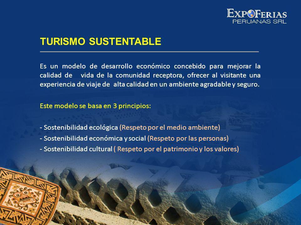 Es un modelo de desarrollo económico concebido para mejorar la calidad de vida de la comunidad receptora, ofrecer al visitante una experiencia de viaj