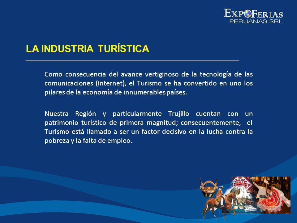 NUESTRA REALIDAD TURíSTICA ACTUAL Trujillo, a pesar de poseer un potencial turístico de valor incalculable, no ha explotado debidamente sus recursos en beneficio del conjunto de su población.