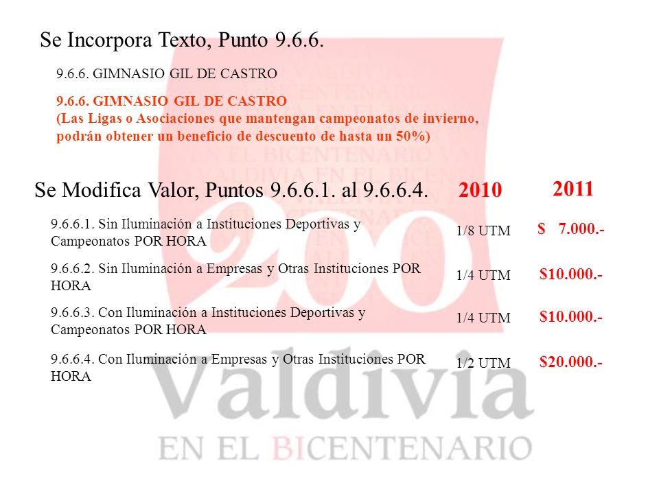 9.6.6. GIMNASIO GIL DE CASTRO Se Incorpora Texto, Punto 9.6.6.