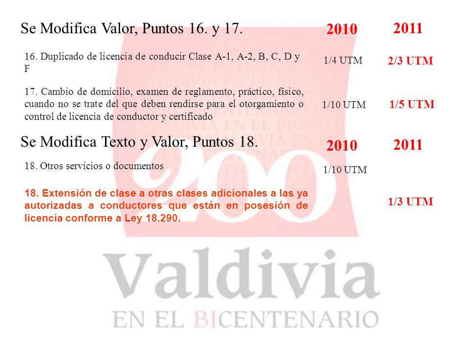 Se Incorpora, Punto 9.9.8.9.9.8. Arriendo Locales MENSUAL: 2010 2011 $100.000.- 9.9.8.1.