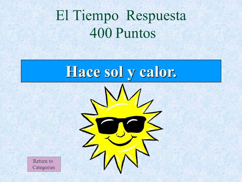 El Tiempo 400 Puntos Return to Categories ¿Qué tiempo hace el 11 de marzo en Santiago, Chile.