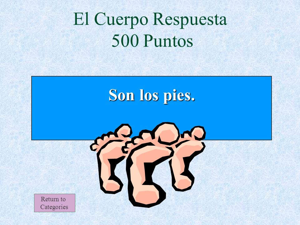 El Cuerpo 500 Puntos Return to Categories ¿Qué son