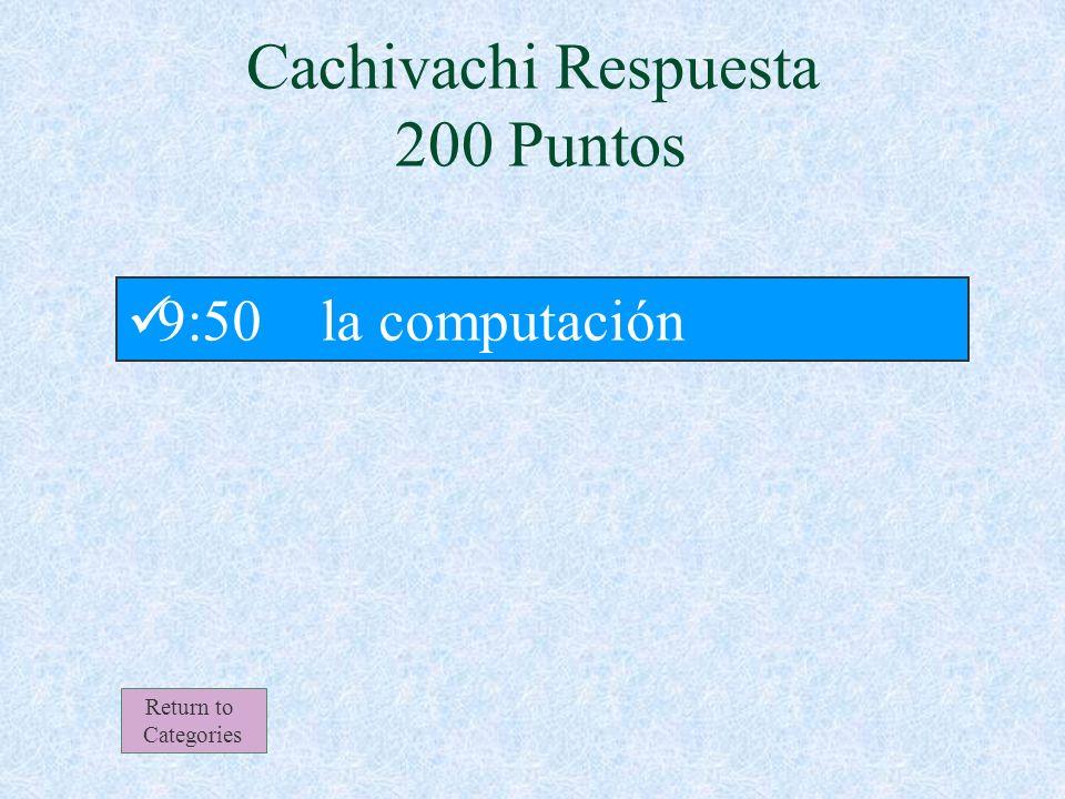 Cachivachi 200 Puntos Return to Categories ¿Qué clase tiene Isabela para la tercera hora de día.