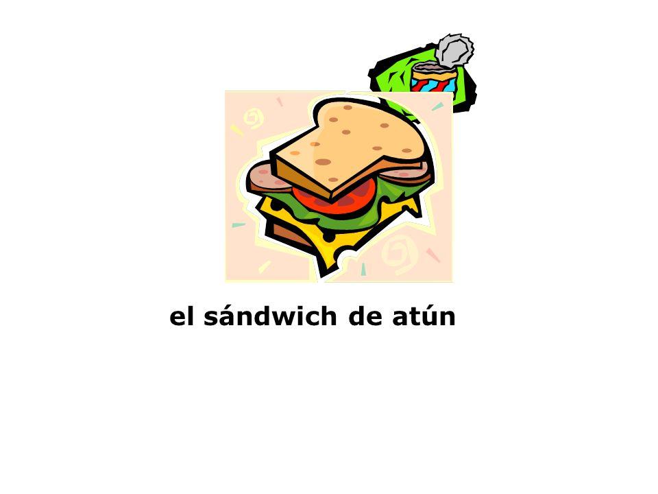 el sándwich de atún