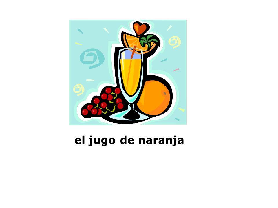 Exprésate Uno Capítulo 6, el jugo de naranja el refresco la leche