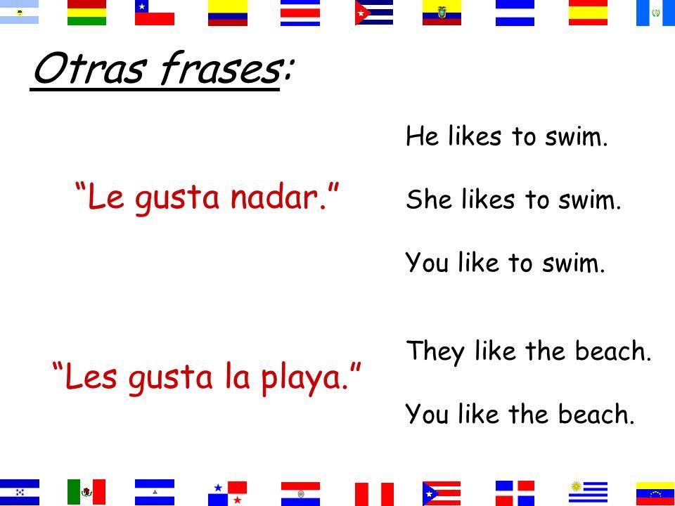 Gusta=singular nouns =infinitives Gustan=plural nouns