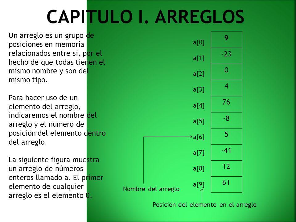CAPITULO I.