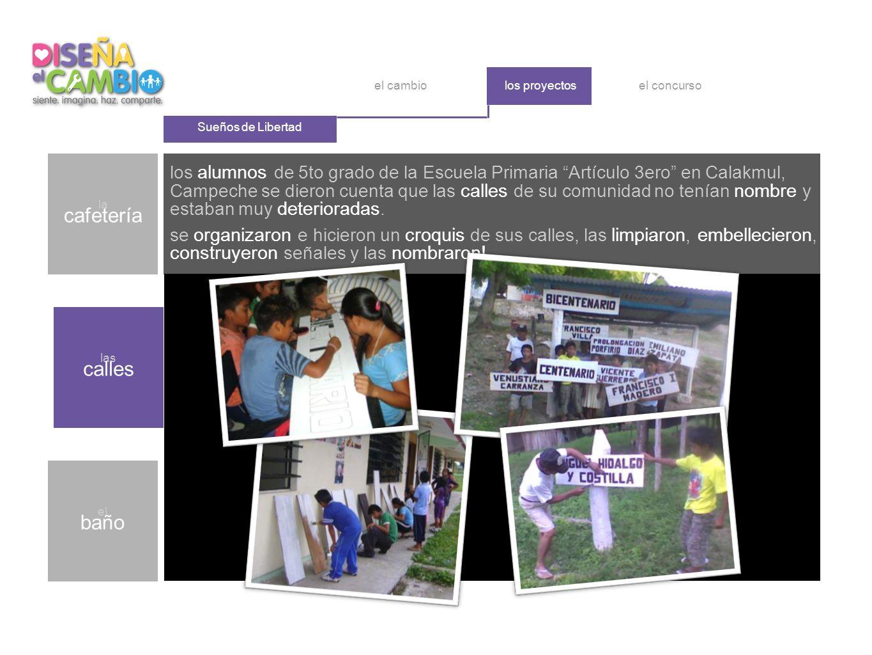 los alumnos de 5to grado de la Escuela Primaria Artículo 3ero en Calakmul, Campeche se dieron cuenta que las calles de su comunidad no tenían nombre y estaban muy deterioradas.