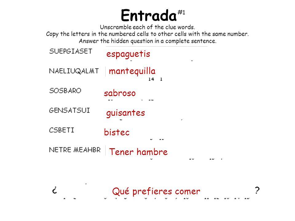 Usa tu pirámide nutritiva y explica a qué categoría pertenece cada comida.