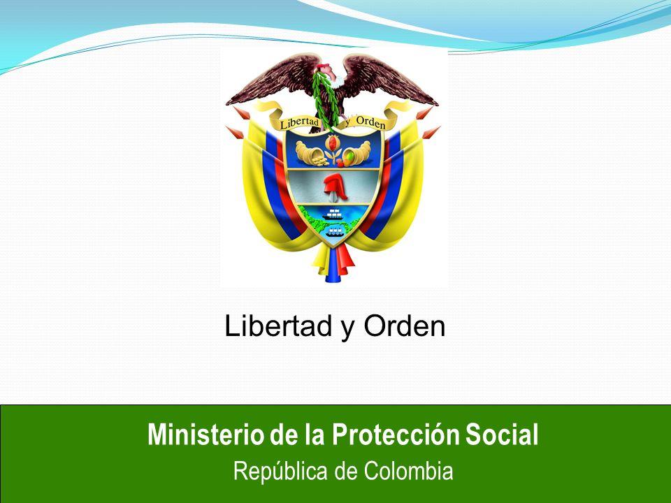 CaracteristicasHABILITACION Ministerio de la Protección Social República de Colombia