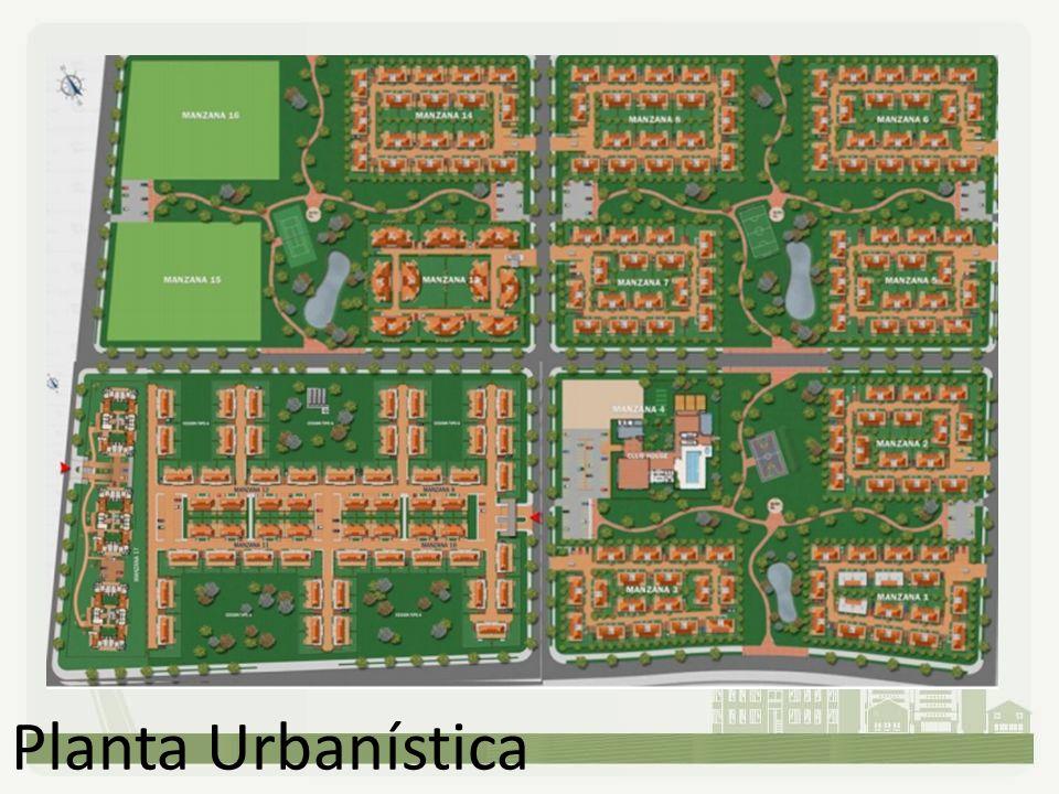Planta Urbanística