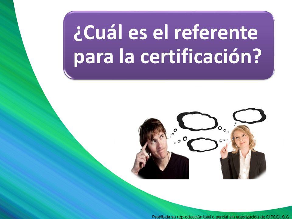 Prohibida su reproducción total o parcial sin autorización de CIPCO, S.C Prohibida su reproducción total o parcial sin autorización de CIPCO, S.C. ¿Cu