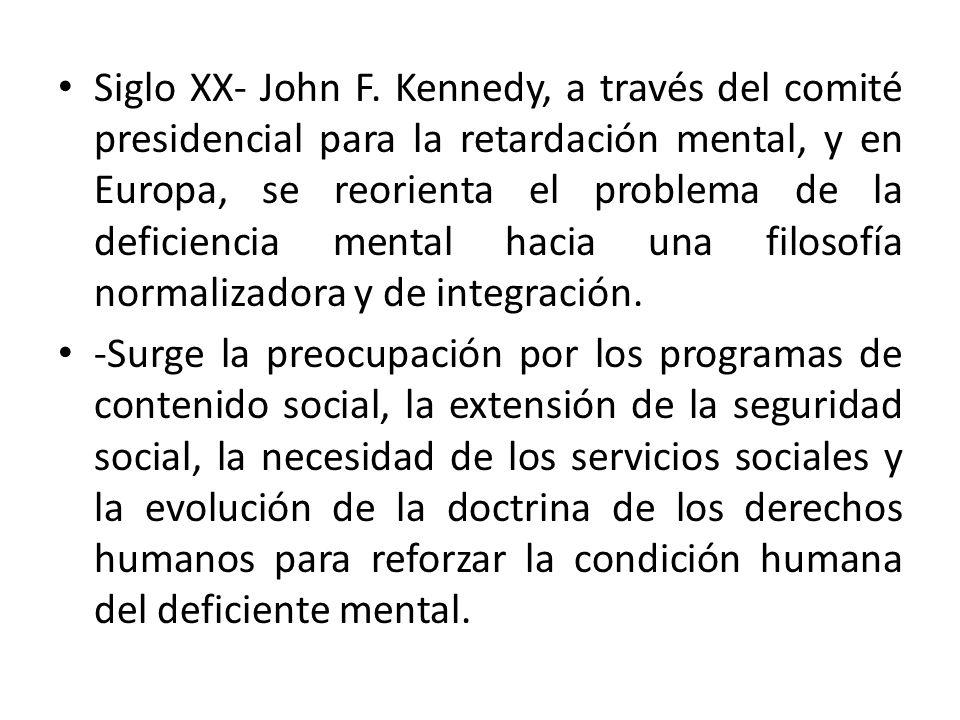 Siglo XX- John F.
