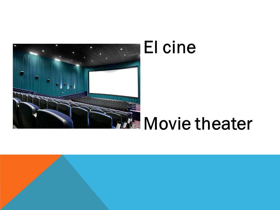 El cine Movie theater