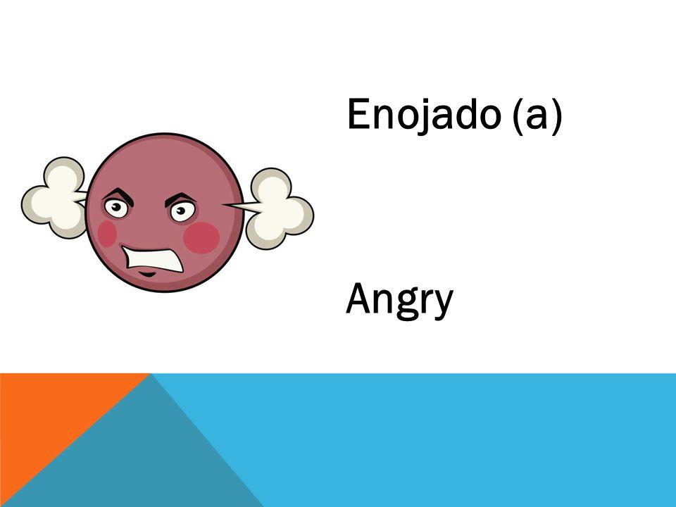 Enojado (a) Angry