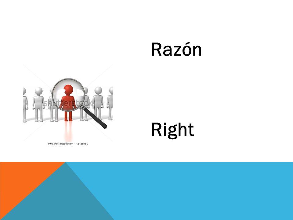 Razón Right