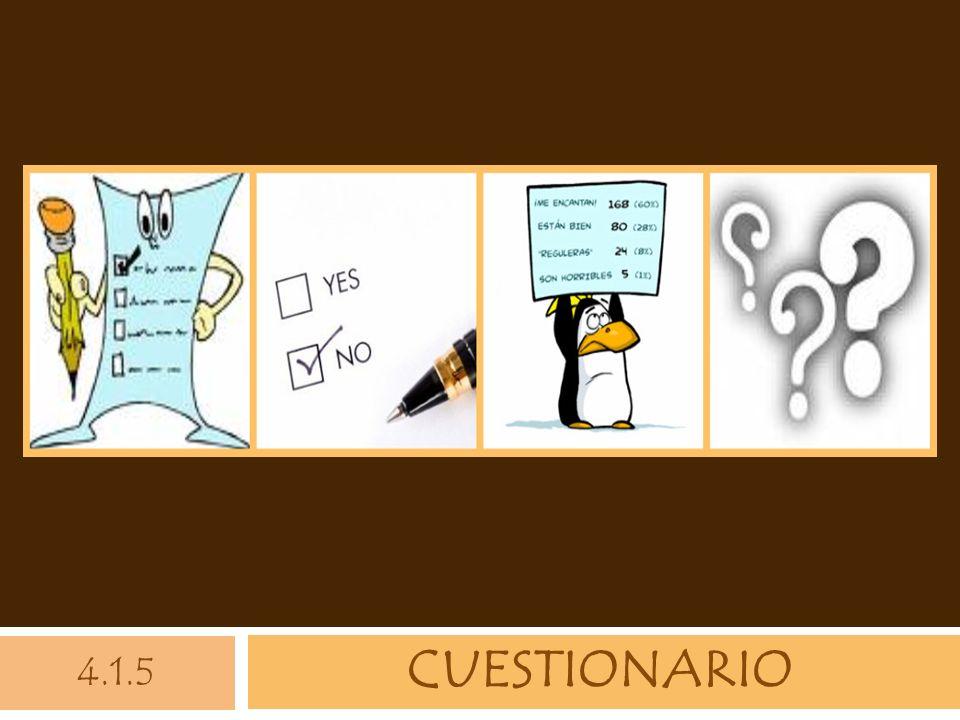 CUESTIONARIO 4.1.5