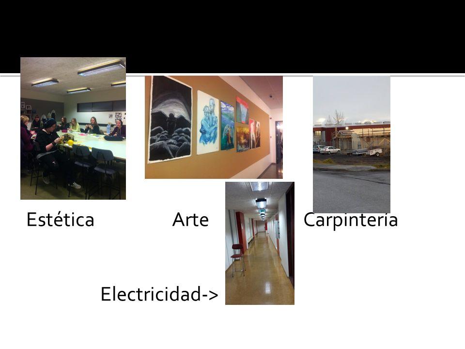Estética Arte Carpintería Electricidad->