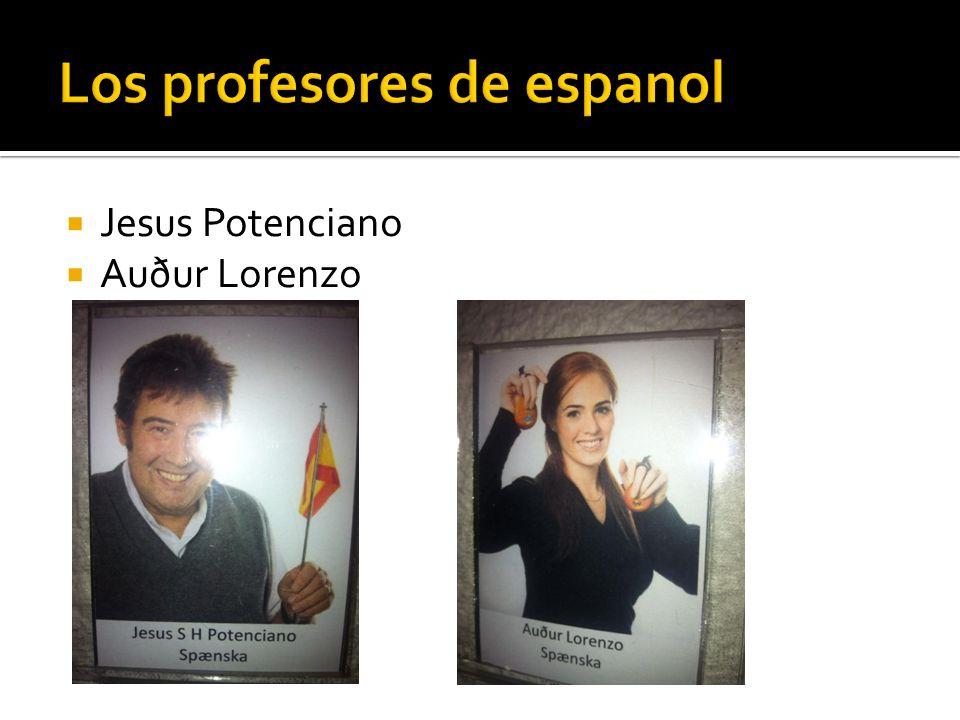 Jesus Potenciano Auður Lorenzo