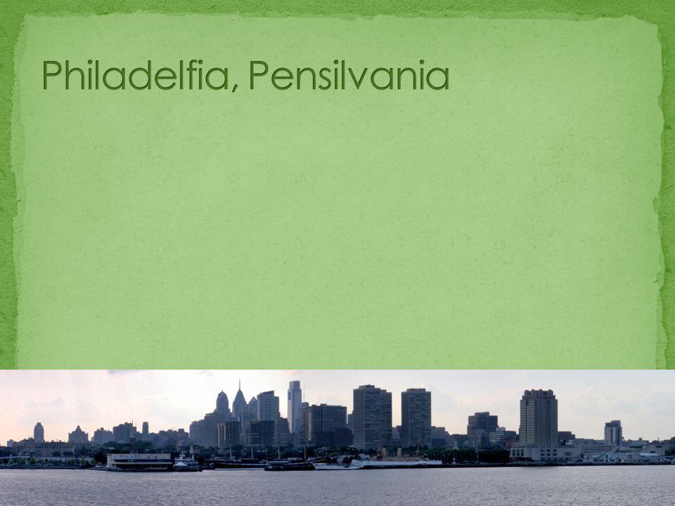 Philadelfia es la mayor ciudad del estado de Pensilvania, situada al noreste de los Estados Unidos, entre Nueva York y Washington D.C.