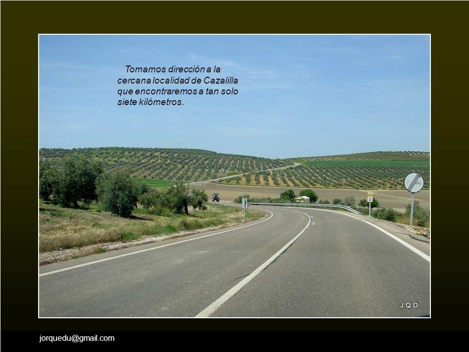 jorquedu@gmail.com Ahora ya estamos en condiciones de hacer de una vez el camino que falta hasta Andújar. Pero vamos a dejar la autovía para circular