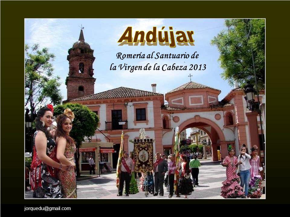 jorquedu@gmail.com Romería al Santuario de la Virgen de la Cabeza 2013