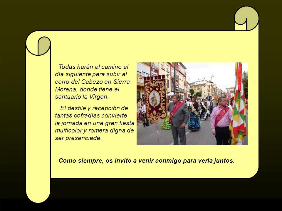 Como todos los años, el último domingo de Abril se celebra en tierras de Jaén la romería mas antigua de España. Mas de cien cofradías se dan cita en A