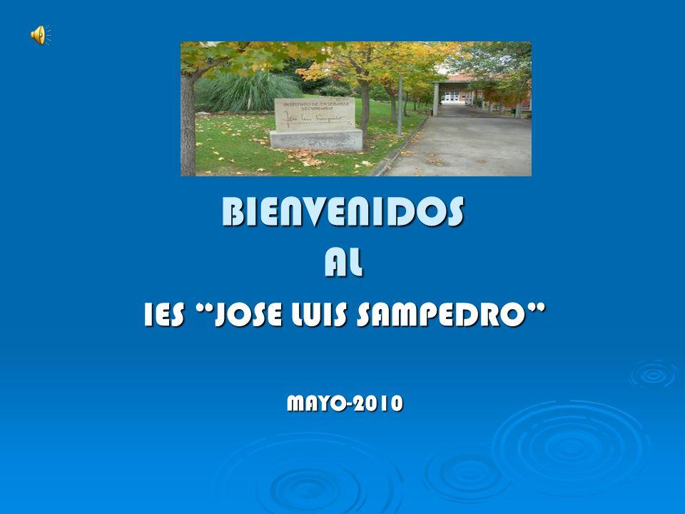 BIENVENIDOS AL IES JOSE LUIS SAMPEDRO MAYO-2010