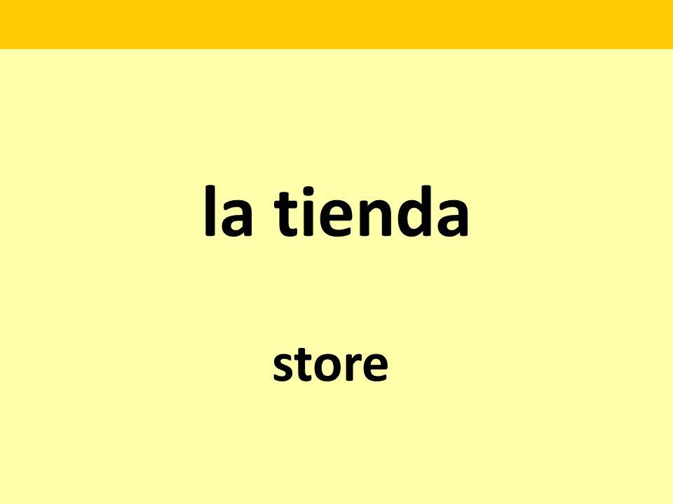 la tienda store