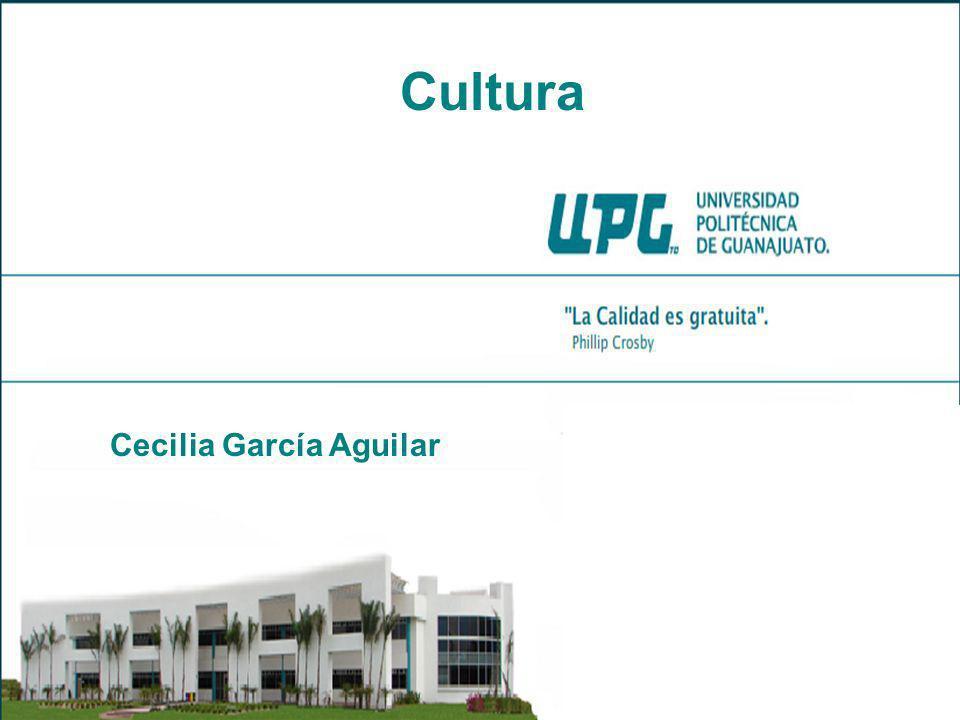 Cecilia García Aguilar Cultura