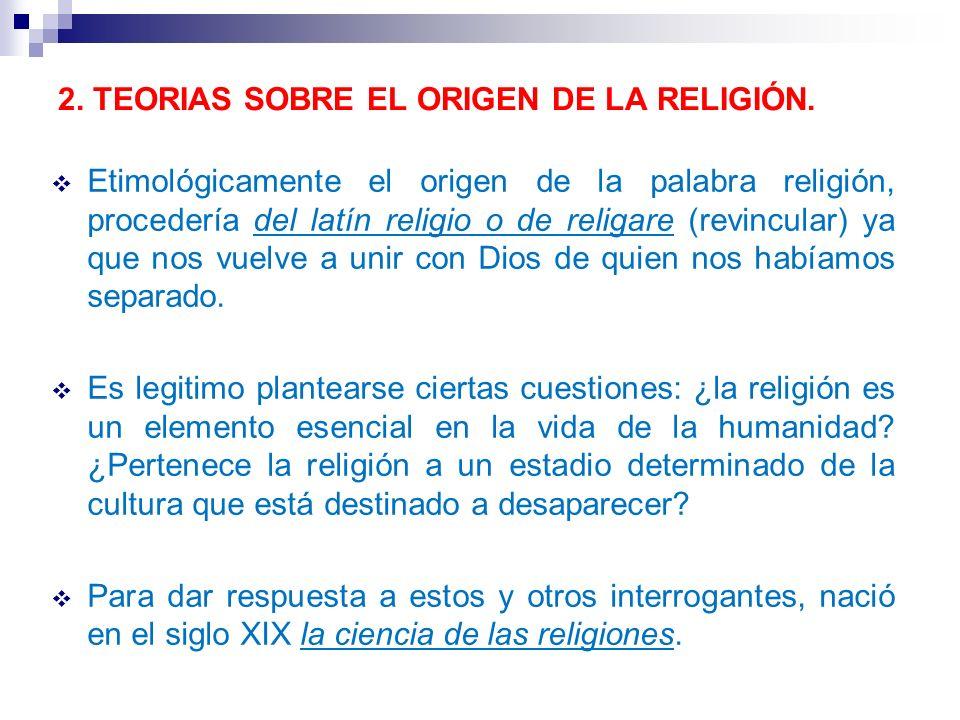 CONCLUSIÓN: La religión es parte de la cultura de los pueblos, y, como tal, es objeto de estudio de diferentes disciplinas de las ciencias sociales: l