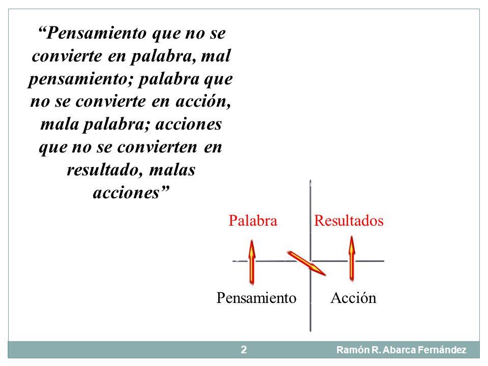 El sentido de la vida Ramón R.