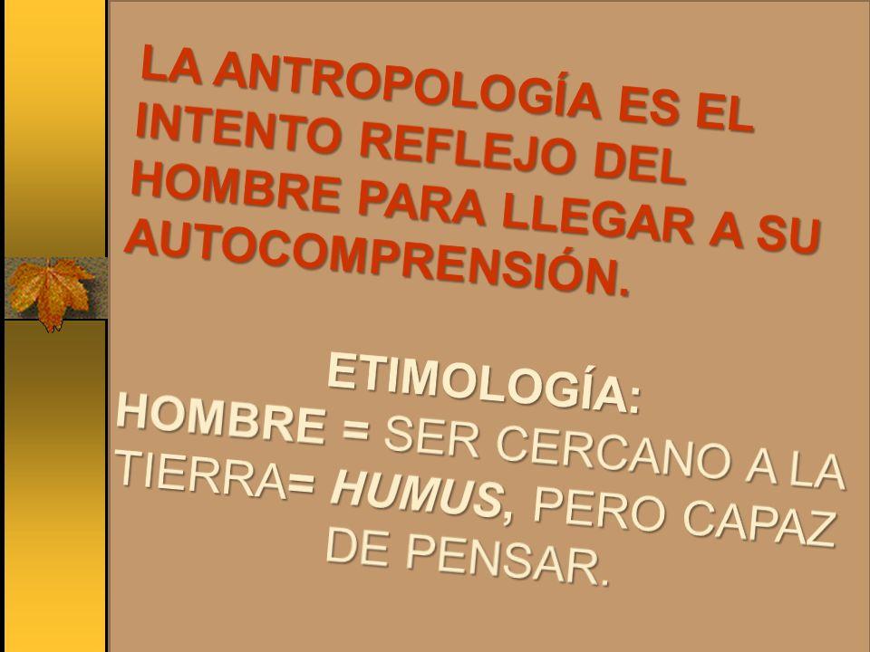 SI EL HOMBRE ESTA SOLO Y NO HAY QUIEN RESPONDA, NO HAY ANTROPOLOGÍA TEOLÓGICA.