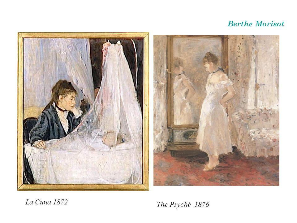 La Cuna 1872 Berthe Morisot The Psyché 1876