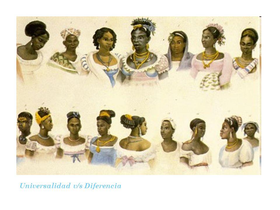 Universalidad v/s Diferencia