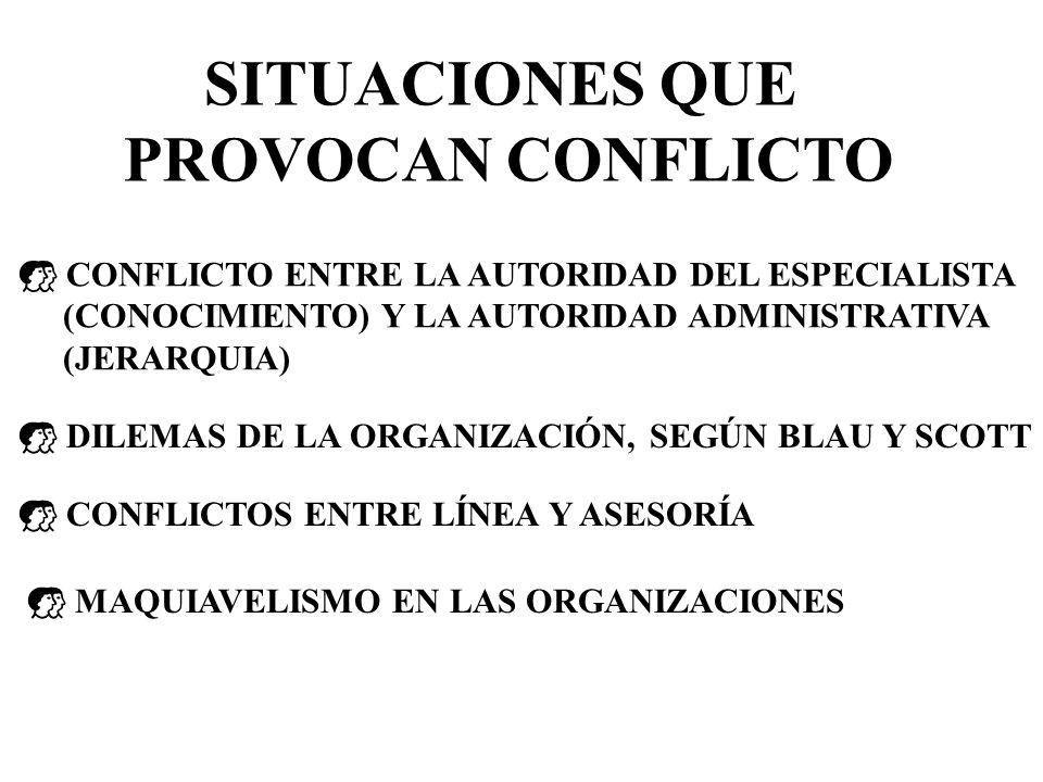 CONFLICTOS ORGANIZACIONALES SIGNIFICA EXISTENCIA DE IDEAS, SENTIMIENTOS, ACTITUDES O INTERESES ANTAGÓNICOS Y ENFRENTADOS QUE PUEDEN CHOCAR CONFLICTO