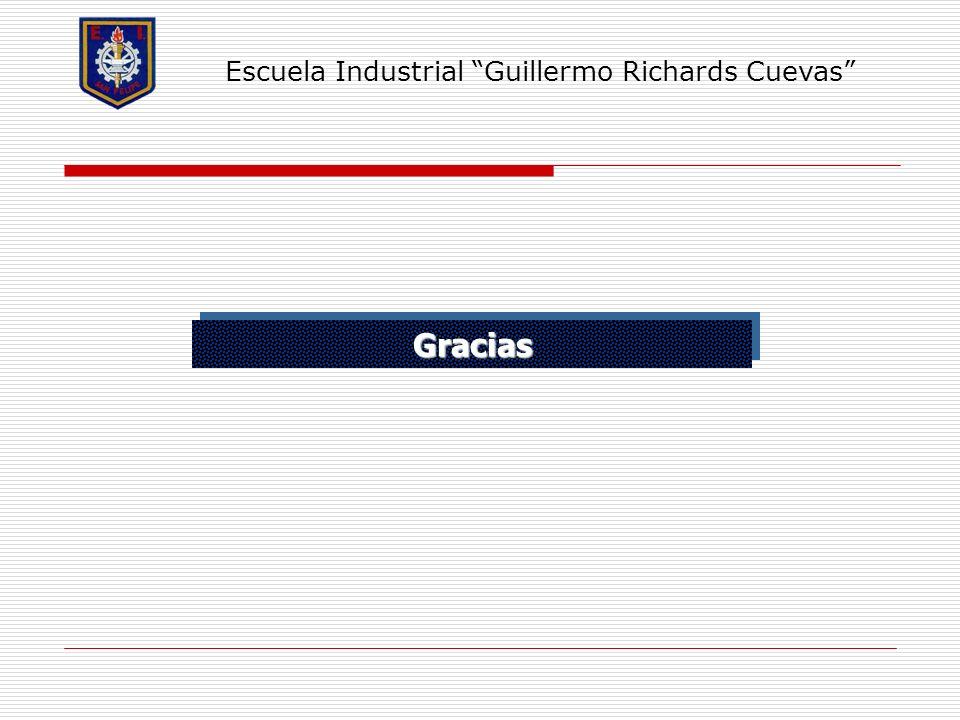 GraciasGracias Escuela Industrial Guillermo Richards Cuevas