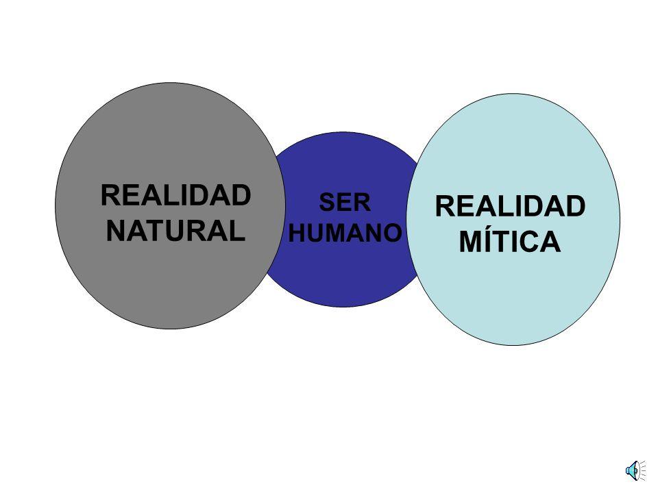 SER HUMANO REALIDAD NATURAL REALIDAD MÍTICA
