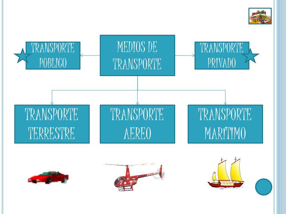 El transporte público comprende los medios de transporte en que los pasajeros no son los propietarios de los mismos, siendo servidos por terceros.