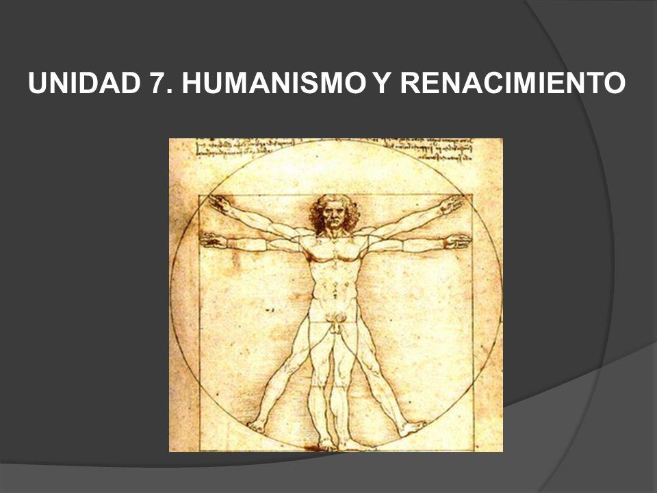 1.-HUMANISMO: ESQUEMA