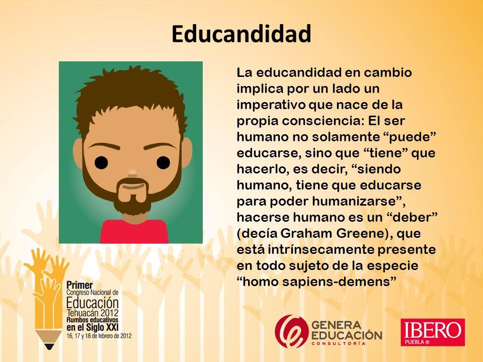 El desafío antropológico: toda educación genera una idea de ser humano que la genera ¿Qué es un hombre.