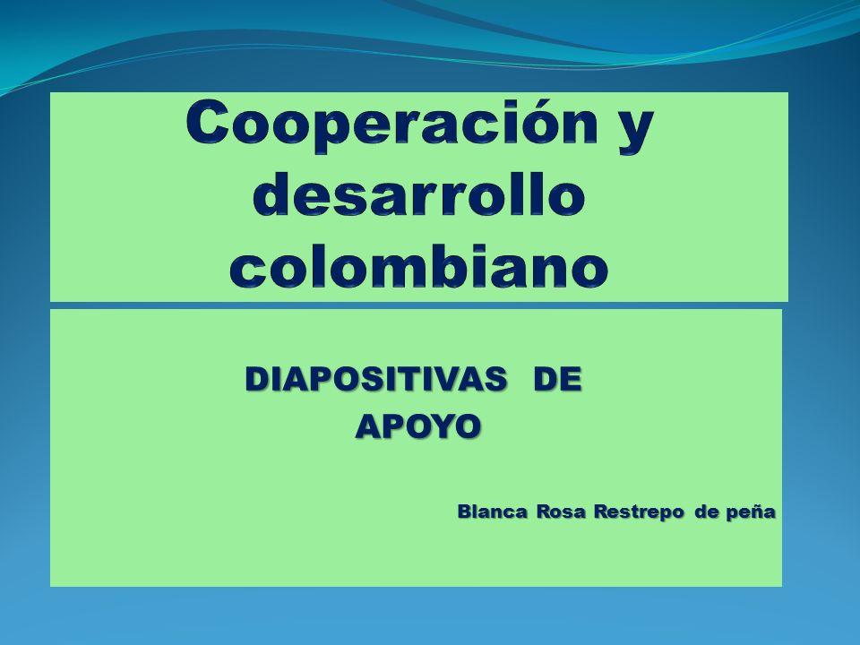 LA COOPERACIÓN La palabra cooperación se deriva de dos términos latinos: Cooperatio Cooperatio - Junto con Operare Operare - trabajar Término que ha ido evolucionando desde el mismo momento en que aparece la naturaleza humana