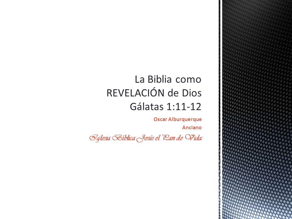 Oscar Alburquerque Anciano Iglesia Bíblica Jesús el Pan de Vida