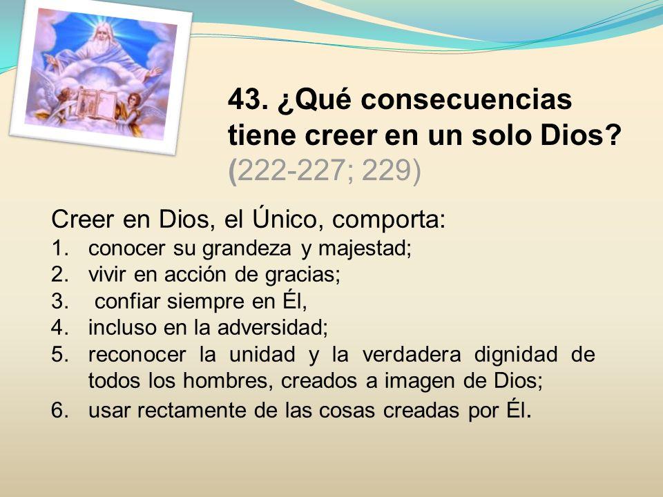 44.¿Cuál es el misterio central de la fe y de la vida cristiana.