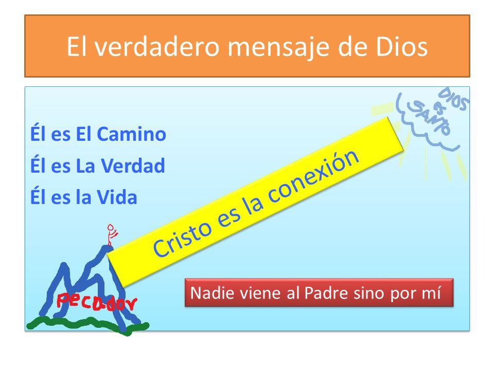 El verdadero mensaje de Dios Él es El Camino Él es La Verdad Él es la Vida Él es El Camino Él es La Verdad Él es la Vida Cristo es la conexión Nadie viene al Padre sino por mí