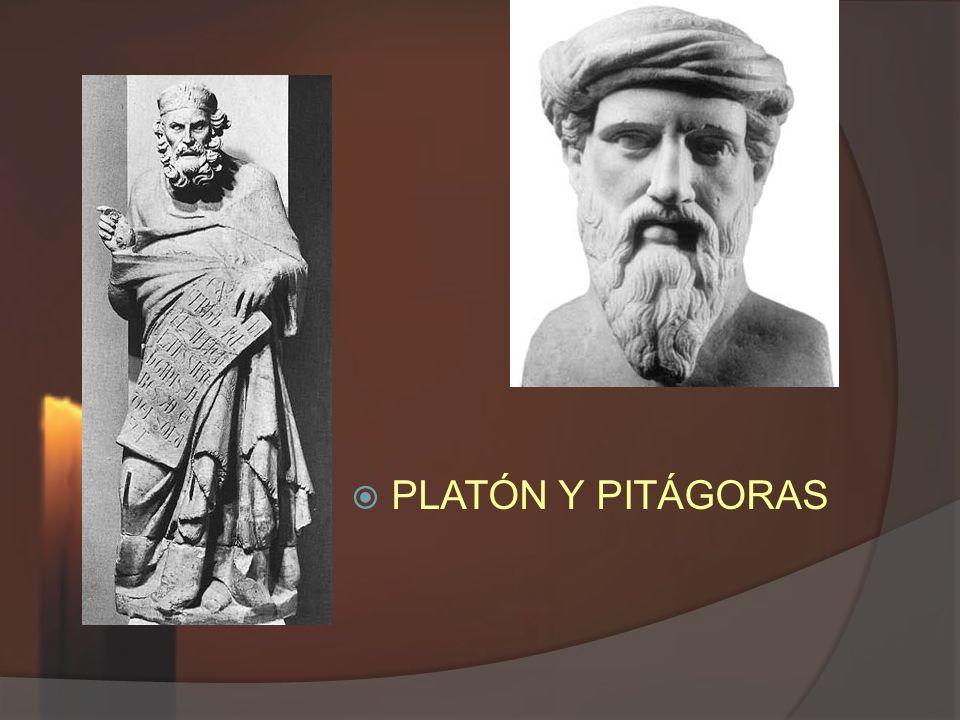 PLATÓN Y PITÁGORAS