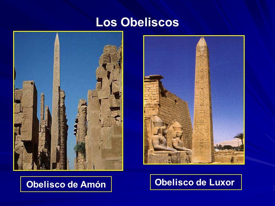 Los Obeliscos Obelisco de Luxor Obelisco de Amón